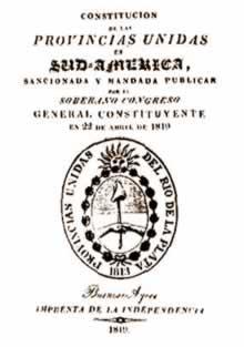 La Constitución de 1819